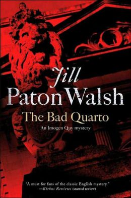 The Bad Quarto (Imogen Quy Series #4)