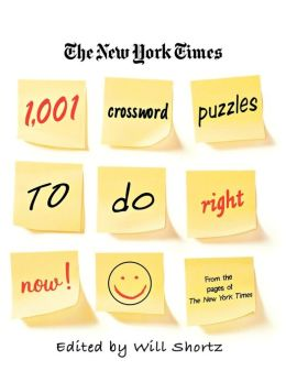 New York Times 1,001 Crossword Puzzles to Do Right Now