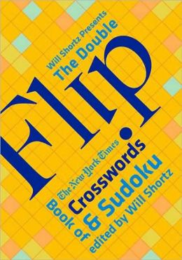 Double Flip Book of Crosswords and Sudoku