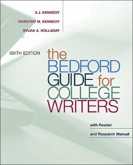 The Bedford Guide for College Writers with Reader: Research Manual