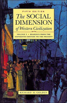 Social Dimension of Western Civilization: Volume 2