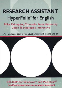 Research Assistant Hyperfolio for English Composition
