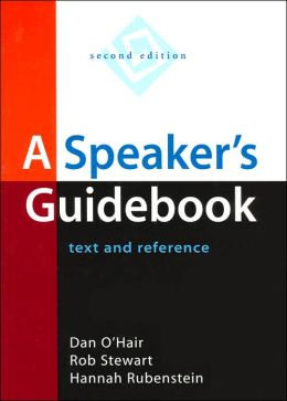 A Speaker's Guidebook: Text and Reference with Video Theater 2.0 CD-ROM