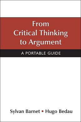 as critical thinking argument elements Foundation for critical thinking online model for learning the elements and standards of critical thinking ©2007 foundation for critical thinking.