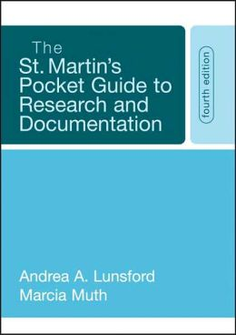 St. Martin's Pocket Guide to Research and Documentation