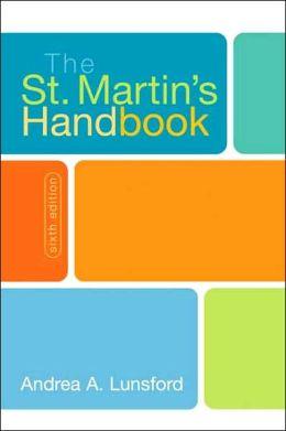St. Martin's Handbook