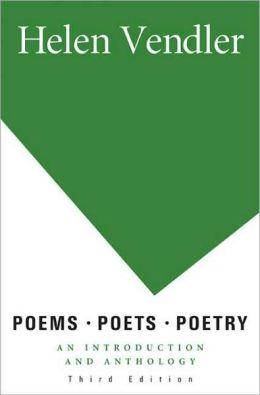 helen vendler poems poets poetry 3rd edition pdf