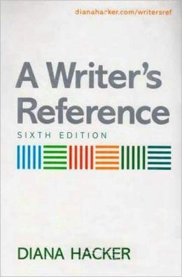 Writer's Reference 6e & i-cite