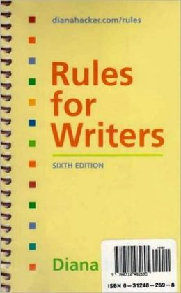 Rules for Writers (Special Edition with Reference Cards)