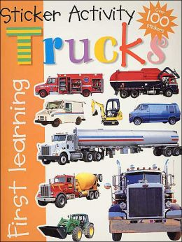 Trucks Sticker Activity