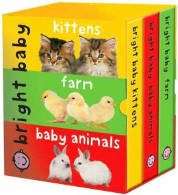 Bright Baby Slipcase (large): Kittens, Farms, Baby Animals