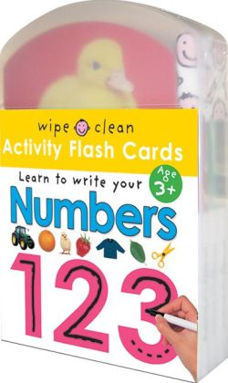 Learn to Write Your Numbers - 123: Activity Flash Cards (Wipe Clean Series)