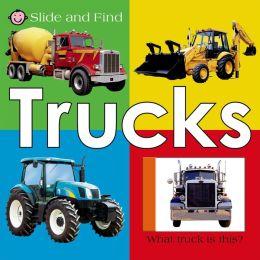 Trucks (Slide and Find Series)