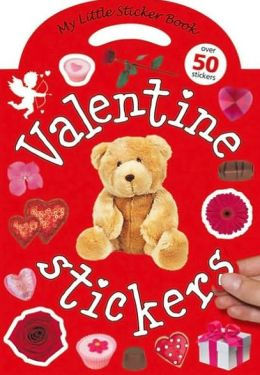My Little Sticker Book Valentine Stickers [With Reusable Stickers]