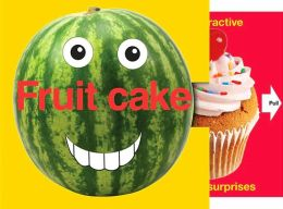 Word Play Fruit Cake