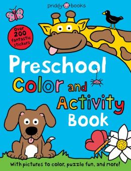 Preschool Sticker & Activity Book