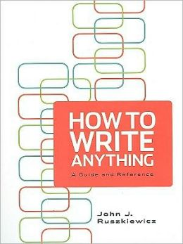 How To Write Anything & e-Book