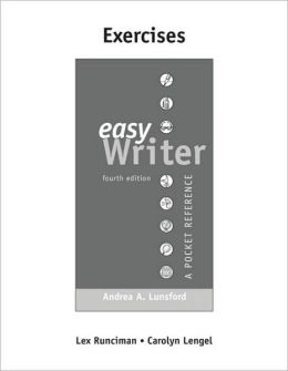 Exercises for EasyWriter
