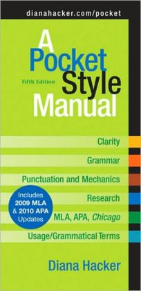 Pocket Style Manual 5e with 2009 MLA Update