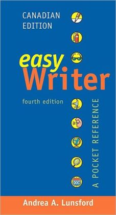 EasyWriter, Canadian Edition: A Pocket Reference