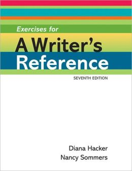 Exercises for a Writer's Reference Large Format