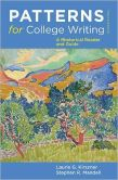 Book Cover Image. Title: Patterns for College Writing:  A Rhetorical Reader and Guide, Author: Laurie G. Kirszner