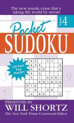 Pocket Sudoku Volume 4 (Pocket Sudoku Series)