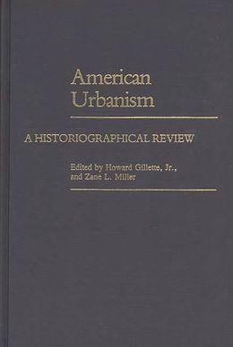 American Urbanism