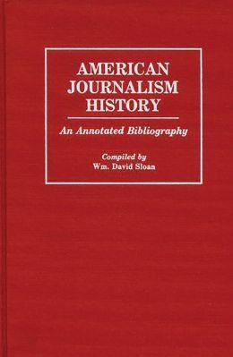 American Journalism History