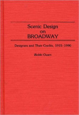 Scenic Design On Broadway