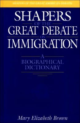 Shapers Of The Great Debate On Immigration