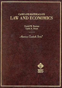 Cases and Materials on Law and Economics