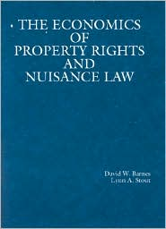 Economics of Property Rights and Nuisance Law