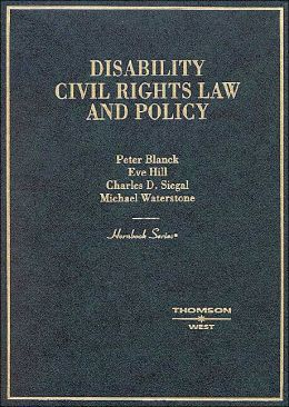 Hornbook on Americans with Disabilities Act Law