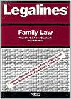 Legalines on Family Law,- Keyed to Areen