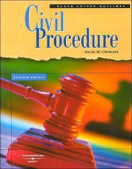 Black Letter on Civil Procedure