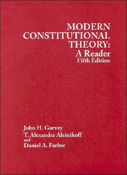 Modern Constitutional Theory:A Reader
