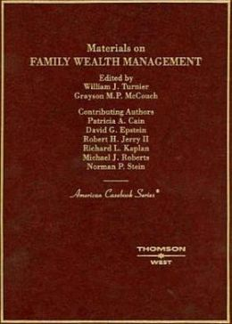 Materials on Family Wealth Management 2005