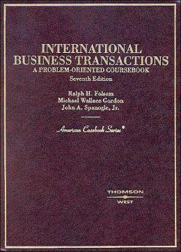 International Business Transactions, A Problem-Oriented Coursebook