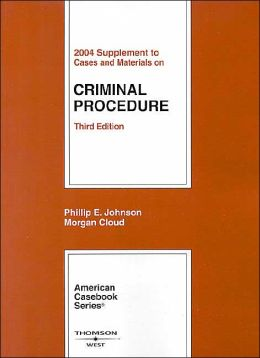 Criminal Procedure-2004 Supplement