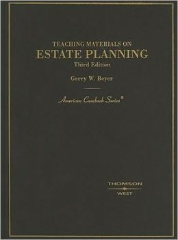 Teaching Materials on Estate Planning