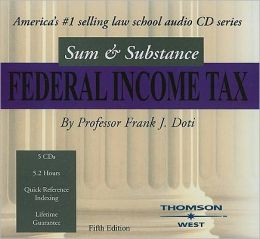 Sum and Substance Audio on Federal Income Taxation, 2004
