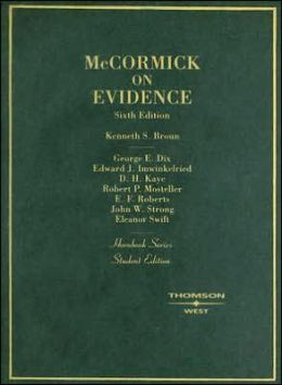 McCormick on Evidence