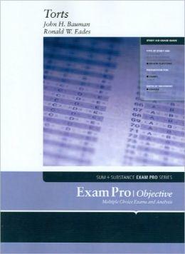 Exam Pro on Torts