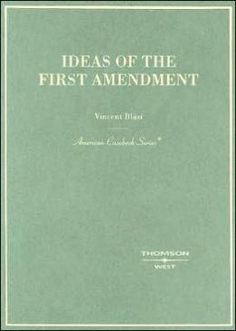 Ideas of the First Amendment