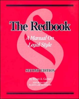 The\Redbook:A Manual on Legal Style