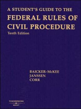 A\Student's Guide to the Federal Rules of Civil Procedure