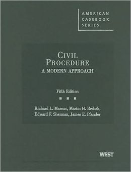 Civil Procedure:A Modern Approach