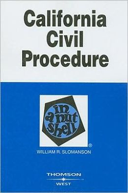 California Civil Procedure