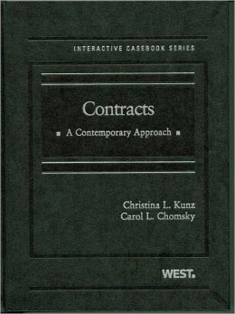 Contracts:A Contemporary Approach